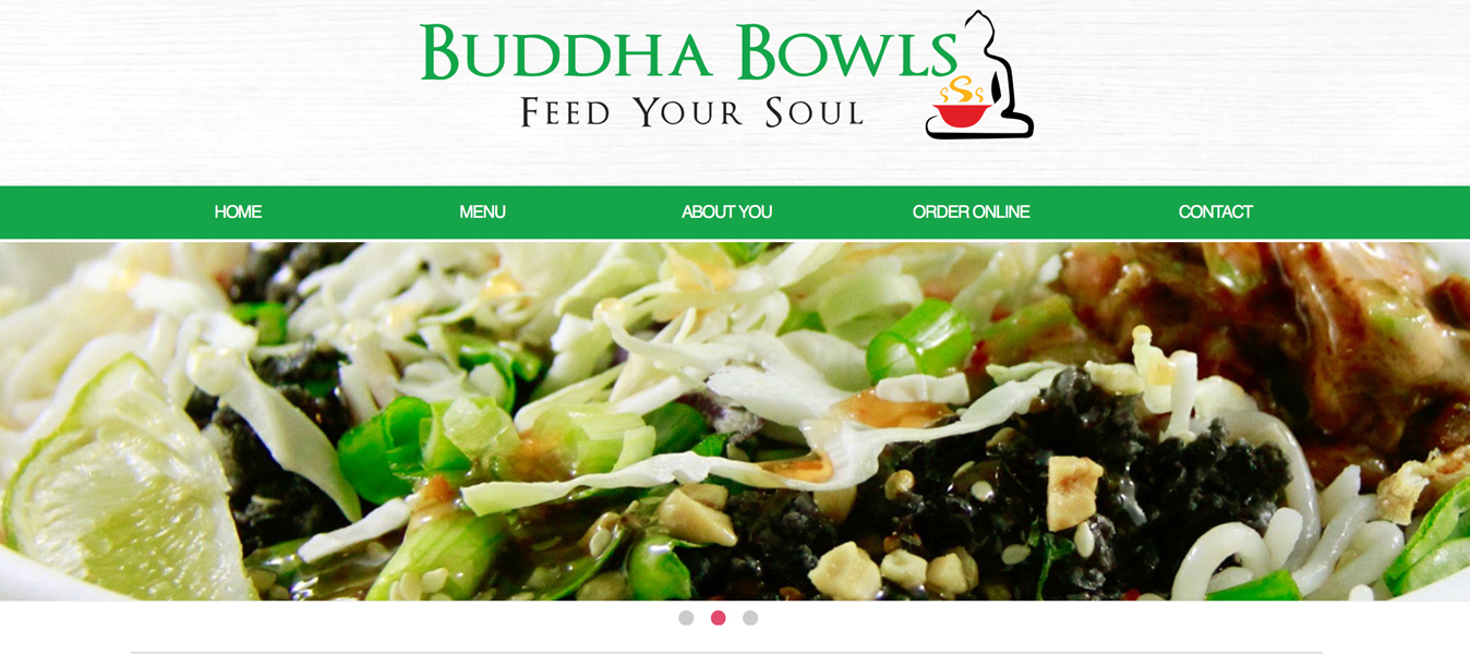 Buddha Bowls Website