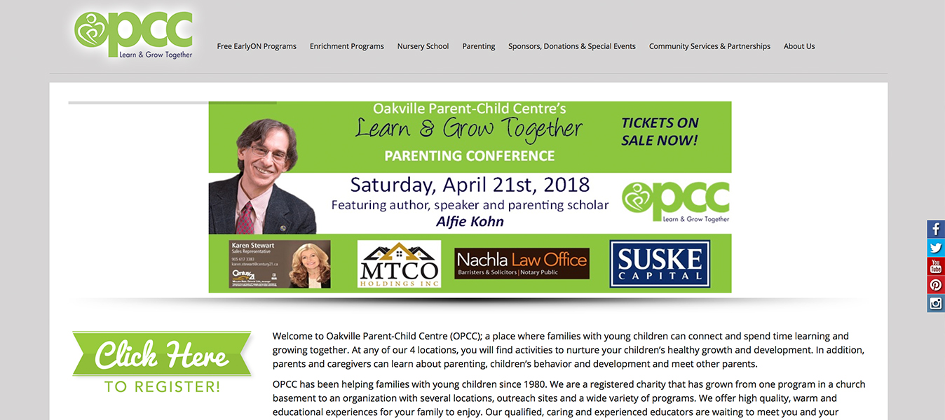 OPCC Oakville Parent Child Centre